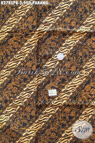 Koleksi Terbaru Kain Batik Parang Klasik, Batik Solo Bahan Paris Untuk Baju Pria Proses CapSoga Harga 110K