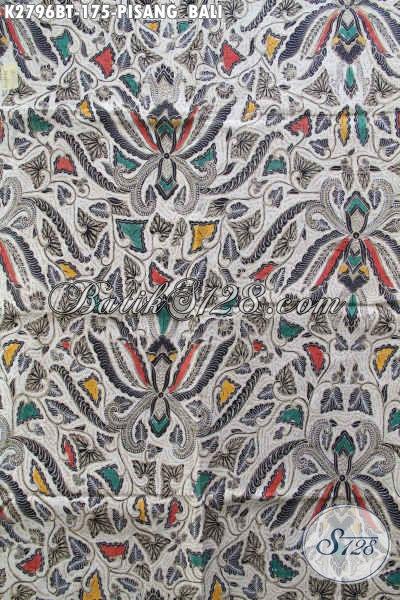 Batik Kain Klasik Pisang Bali, Batik Halus Buatan Solo Proses Kombinasi Tulis, Pas Banget Untuk Seragam Kerja Kantoran Dan Baju Kondangan