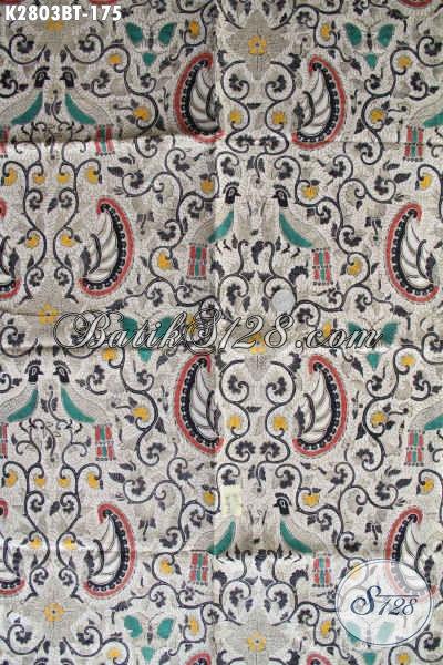 Toko Batik Online Asli Solo, Jual Kain Batik Istimewa Motif Bagus Proses Kombinasi Tulis Bahan Aneka Busana Berkelas Harga 175K [K2803BT-240x110cm]