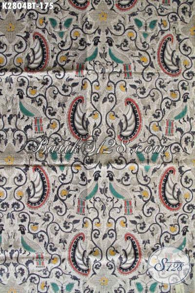 Batik Jawa Halus Proses Kombinasi Tulis, Kain Batik Klasik Khas Jawa Tengah Bahan Pakaian Nan Istimewa Proses Kombinasi Tulis [K2805BT-240x110cm]