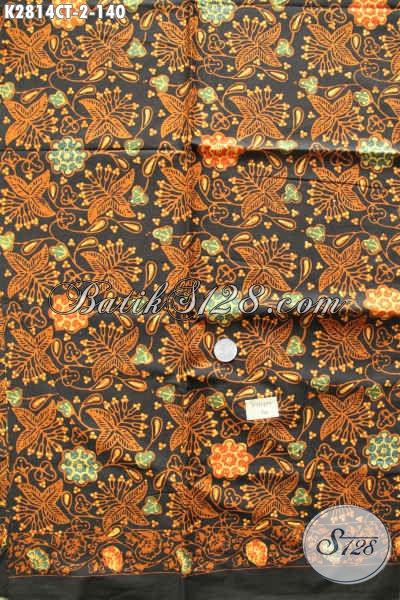 Produk Kain Batik Masa Kini, Batik Halus Bahan Busana Wanita Proses Cap Tulis Di Jual Onine 140K [K2814CT-200x110cm]