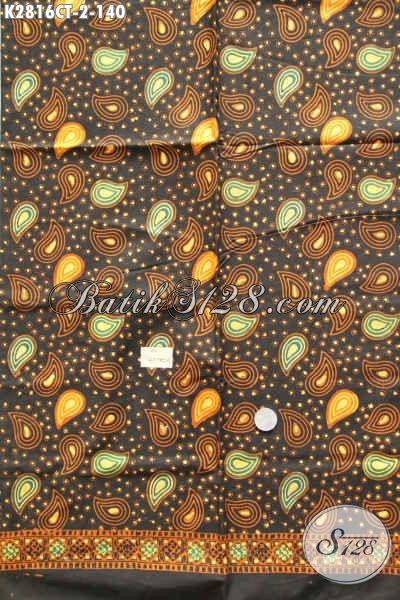 Kain Batik Motif Kekinian, Batik Halus Proses Cap Tulis Asli Dari Solo Harga 140K [K2816CT-200x110cm]