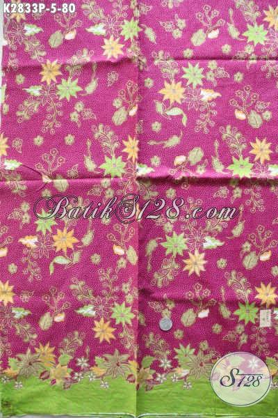 Produk Terbaru Kain Batik Buatan Solo, Batik Halus Bahan Dress Cantik Harga 80K