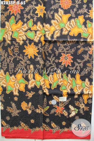 Kain Batik Elegan Proses Printing, Batik Solo Halus Spesial Untuk Pakaian Formal Dan Seragam Kantor [K2835P-200x110cm]