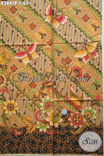 Batik Solo Istimewa Motif Bagus Dan Mewah, Batik Printing Istimewa Buatan Solo Asli Di Jual Online 65 Ribuan [K2841P-200x110cm]