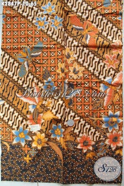 Kain Batik Di Jual Online Eceran Harga Grosiran, Batik Elegan Kwalitas Bagus Cocok Untuk Kemeja Lengan Pendek