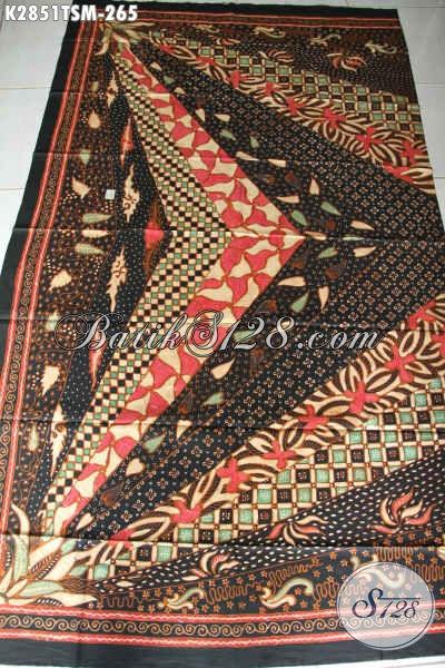 Produk Batik Kain Klasik Buatan Solo Asli, Batik Motif Sinaran Harga 265K Bahan Baju Kerja Pria Tampil Gagah [K2851TSM-200x110cm]