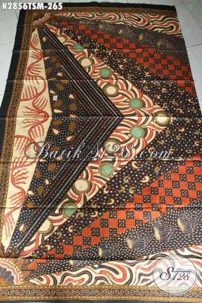 Jual Online Batik Klasik Sinaran, Batik Halus Buatan Solo Proses Tulis Bahan Pakaian Mewah Nan Berkelas Tampil Lebih Sempurna [K2856TSM-200x110cm]
