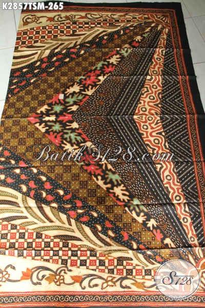Batik Kain Halus Motif Sinaran, Batik Tulis Proses Klasik Buatan Solo Asli Bahan Busana Mewah Dan Berkelas Hanya 200 Ribuan [K2857TSM-200x110cm]