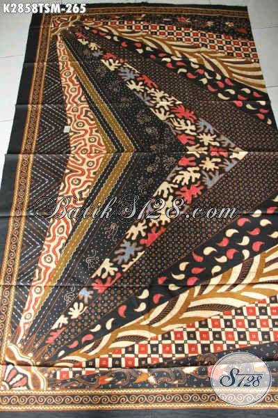 Online Shop Produk Batik Terlengkap, Sedia Kain Batik Tulis Motif Klasik Sinaran Bahan Busana Premium Tampil Lebih Mewah [K2858TSM-200x110cm]