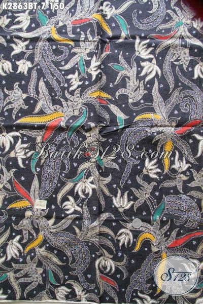 Aneka Kain Batik Moder Bahan Busana Kwalitas Bagus Proses Kombinasi Tulis Motif Terkini Cocok Untuk Hem Dan Blus [K2863BT-240x110cm]