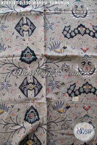 Toko Busana Batik Online, Sedia Kain Batik Klasik Lawasan Bahan Busana Elegan Dan Mewah Proses Kombinasi Tulis Hanya 100 Ribuan [K2873BT-240x110cm]