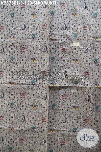 Toko Kain Batik Online Pilihan Komplit, Sedia Batik Halus Nan Istimewa Motif Klasik Sidomukti, Batik Lawasan Bahan Pakaian Nan Berkelas [K2878BT-240x110cm]