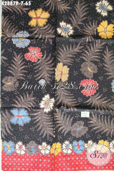 Batik Kain Keren Buatan Solo Bahan Baju Modis Dan Trendy Proses Printing Hanya 60 Ribuan [K2887P-200x110cm]