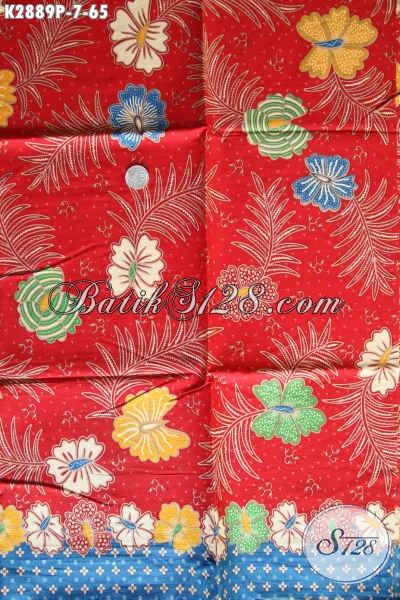 Jenis Kain Batik Solo Bahan Busana Wanita, Kain Batik Printing Keren Halus Harga 65K Kwalitas Istimewa, Cocok Untuk Baju Kerja
