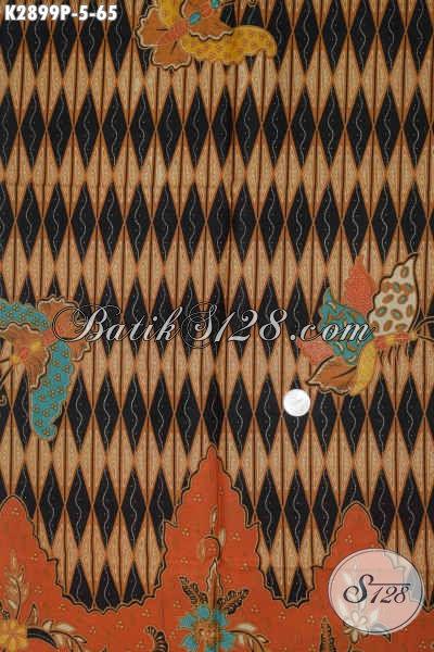 Sedia Kain Batik Modern Klasik Bahan Pakaian Berkelas Untuk Kerja Dan Santai Proses Printing Harga 65K [K2899P-200x110cm]