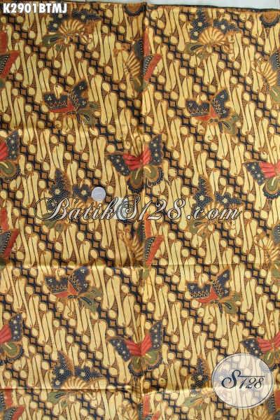 Agen Kain Batik Online, Sedia Batik Jarik Klasik Proses Kombinasi Tulis Kwalitas Bagus Hanya 120K [K2901BTMJ-240x105cm]