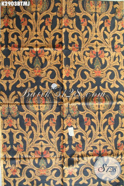 Agen Kain Batik Murah Online, Sedia Kain Batik Jarik Halus Motif Klasik Hanya 100 Ribuan Proses Kombinasi Tulis [K2903BTMJ-240x105cm]