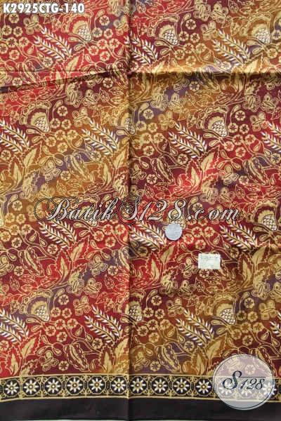 Kain Batik Istimewa, Kain Batik Modern Klasik Proses Cap Tulis Warna Gradasi Bahan Pakaian Masa Kini Nan Berkelas
