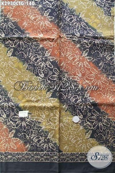 Jual Kain Batik Bahan Busana Kerja Dan Santai, Batik Istimewa Harga Biasa Proses Cap Tulis Asli Dari Solo Jawa Tengah [K2930CTG-200x110cm]