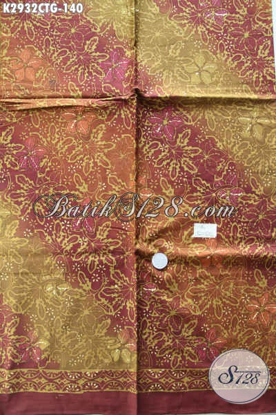 Bursa Batik Online Tempat Cari Batik Solo Murah Berkwalitas Proses Cap Tulis Bahan Pakaian Elegan Dan Modis [K2932CTG-200x110cm]
