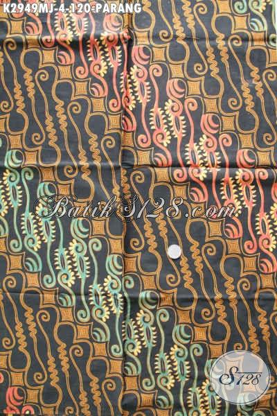 Beli Kain Batik Solo Klasik Bahan Jarik, Batik Istimewa Motif Parang Proses Kombinasi Tulis Hanya 120K [K2949MJ-240x105cm]