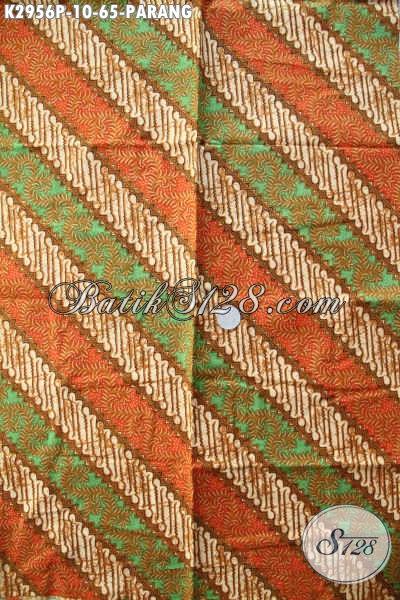 Beli Kain Batik Murah Online, Sedia Batik Solo Halus Motif Parang Proses Printing Hanya 65K [K2956P-200x110cm]