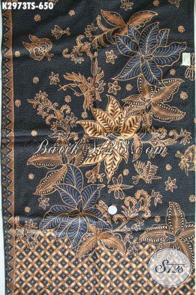 Koleksi Terkini Kain Batik Premium Tulis Soga, Hadir Dengan Motif Keren Dan Berkelas Harga 650K, Cocok Untuk Baju Santai Dan Resmi Tampil Mewah [K2973TS-240x110cm]