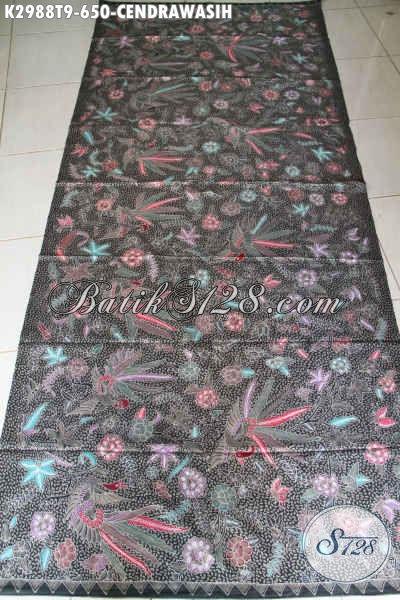 Batik Halus Elegan Mewah Bahan Pakaian Wanita, Kain Batik Bahan Blus Dan Dress Berkelas Proses Tulis  Harga 650K [K2988T-240x110cm]