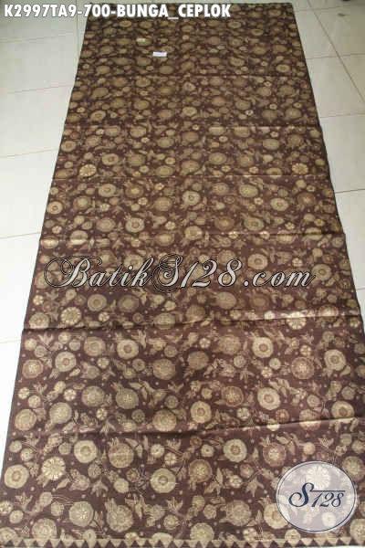 Contoh batik tulis warna alam (jalawe, mahoni, tingi, teger, jambal)