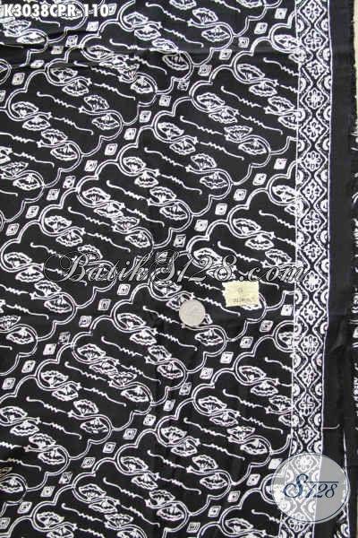 Batik Paris Solo Jawa Tengah, Batik Istimewa Untuk Baju Kerja Motif Klasik Warna Monokrom Bagus Banget
