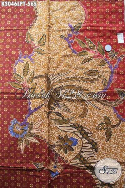 Batik Solo Mewah Pola Kemeja Lengan Panjang, Batik Kain Istimewa Untuk Pakaian Pria Tampil Mempesona