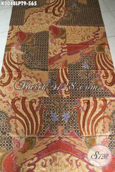 Koleksi Terbaru Toko Batik Online, Kain Batik Mewah Pola Kemeja Lengan Panjang Proses Tulis, Spesial Untuk Pria Kantoran [K3048LPT-240x110cm]