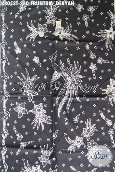 Batik Tulis Putih Hitam Motif Truntum Debyah, Batik Klasik Solo Nan Istimewa Untuk Baju Santai Dan Resmi