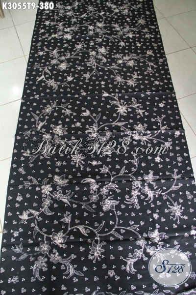 Batik Kain Halus Dasar Hitam Proses Tulis, Batik Premium Istimewa Hanya 300 Ribuan