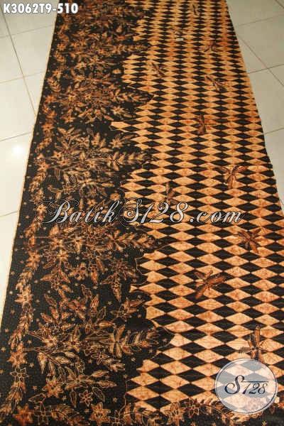 Batik Klasik Solo Mewah, Batik Halus Bahan Pakaian Kerja Pria Proses Tulis Harga 500 Ribuan, Cocok Juga Untuk Busana Kondangan [K3062T-200x110cm]