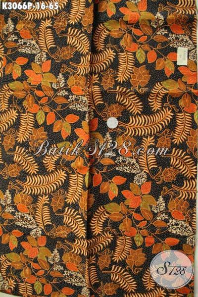Kain Batik Solo Proses Printing Motif Terkini Warna Klasik Bahan Busana Nan Modis Dan Berkelas Hanya 65K [K3066P-200x115cm]