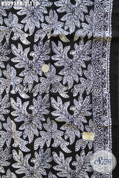 Kain Batik Fashion Bahan Paris Dengan Motif Terkini Proses Cap, Pas Banget Untuk Pakaian Santai