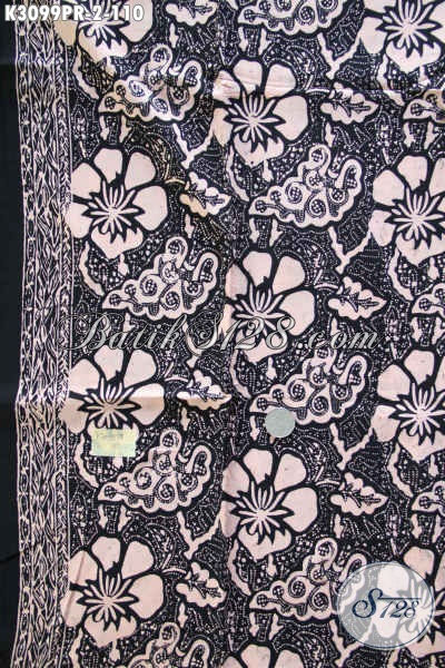 Beli Kain Batik Murah Kwalitas Bagus Bautan Solo, Batik Bahan Paris Nan Istimewa Cocok Buat Pakaian Santai Dan Resmi Harga 110 Ribu [K3099PR-180x110cm]