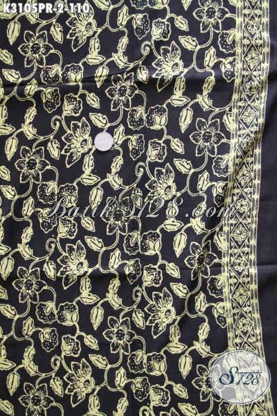 Sedia Kain Batik Modern, Produk Kain Batik Solo Bahan Paris Kwalitas Halus Motif Bagus Proses Cap, Di Jual Online 110K [K3105PR-180x110cm]