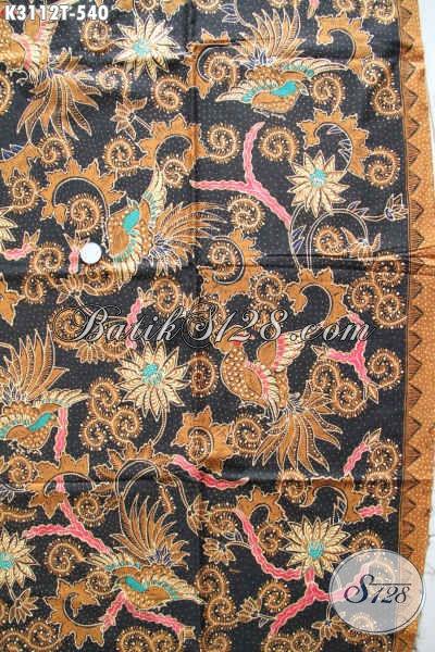Batik Kain Halus Dan Mewah, Batik Solo Klasik Proses Tulis Bahan Busana Berkelas Pria Dan Wanita Pejabat [K3112T-240x115cm]