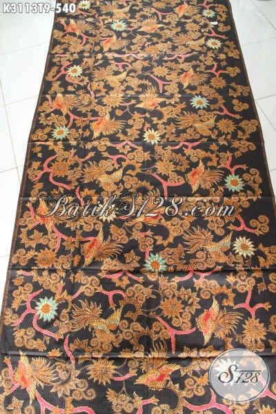 Produk Terbaru Kain Batik Solo Klasik, Batik Tulis Halus Bahan Busana Mewah Menunjang Penampilan Lebih Sempurna Harga 540 Ribu [K3113T-240x115cm]