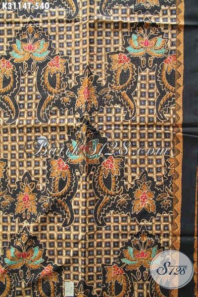 Toko Kain Batik Premium Online, Jual Batik Tulis Mewah Bahan Busana Khas Pejabat Harga 500 Ribuan Proses Tulis Motif Klasik, Penampilan Makin Sempurna [K3114T-240x115cm]