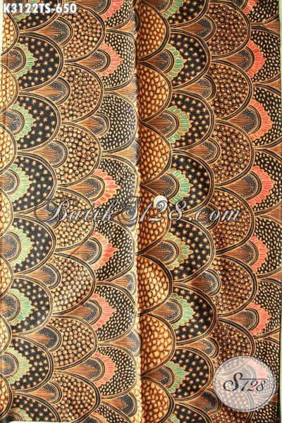 Kain Batik Solo Klasik Premium Proses Tulis Soga, Batik Bahan Baju Mewah Khas Pejabat, Di Jual Online 650 Ribu