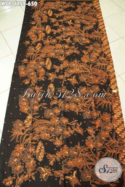 Jual Kan Batik Katun Premium Murah, Batik Klasik Tulis Soga Nan Istimewa Cocok Untuk Baju Formal Dan Santai [K3131TS-240x110cm]