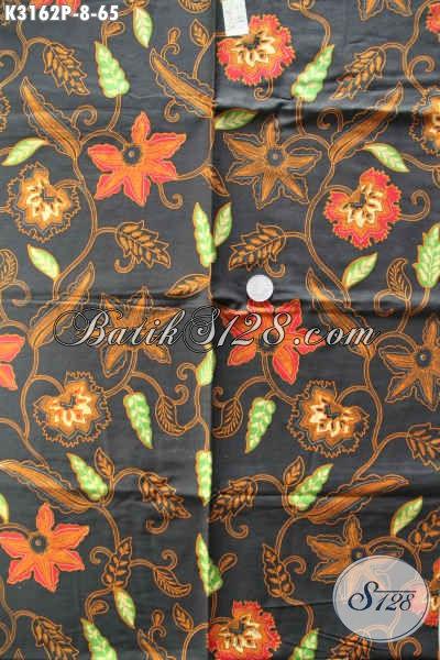 Batik Bahan Busana Wanita Pria Kwalitas Bagus Motif Elegan Proses Printing, Asli Buatan Solo Hanya 60 Ribuan [K3162P-200x115cm]
