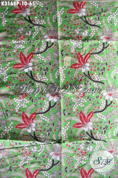 Batik Halus Motif Bunga, Batik Bahan Pakaian Pria Lengan Pendek, Batik Solo Printig Untuk Blus Wanita Kantoran Hanya 65 Ribu