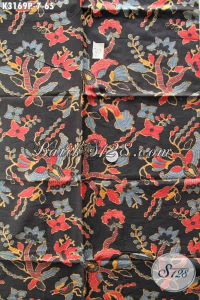 Sedia Kain Batik Halus Motif Bagus Proses Printing, Cocok Untuk Pakaian Kerja Masa Kini