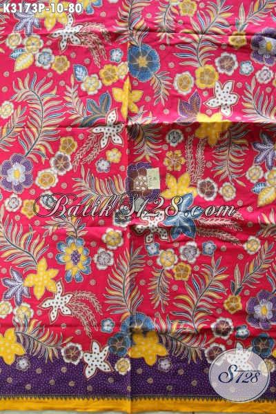 Sedia Kain Batik Solo Istimewa, Batik Halus Motif Mewah Proses Printing Pas Untuk Busana Kerja Dan Santai Hanya 665 Ribu Saja