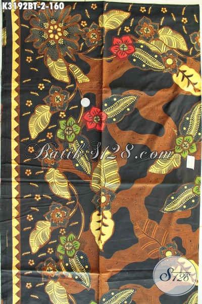 Kain Batik Kombiansi Tulis Di Jual Online 160K, Batik Istimewa Motif Mewah Bahan Pakaian Wanita Pria Kantoran